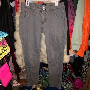 Hudson skinny jeans 💙🖤